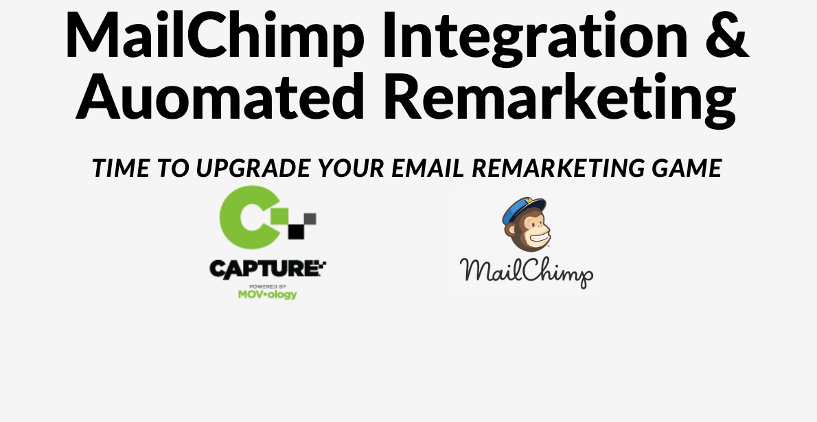 Mailchimp integration and automated remarketing