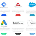 integrations page