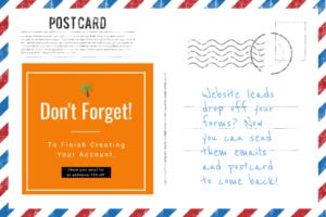 automated postcard remarketing