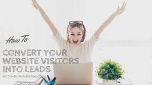how to convert website visitors