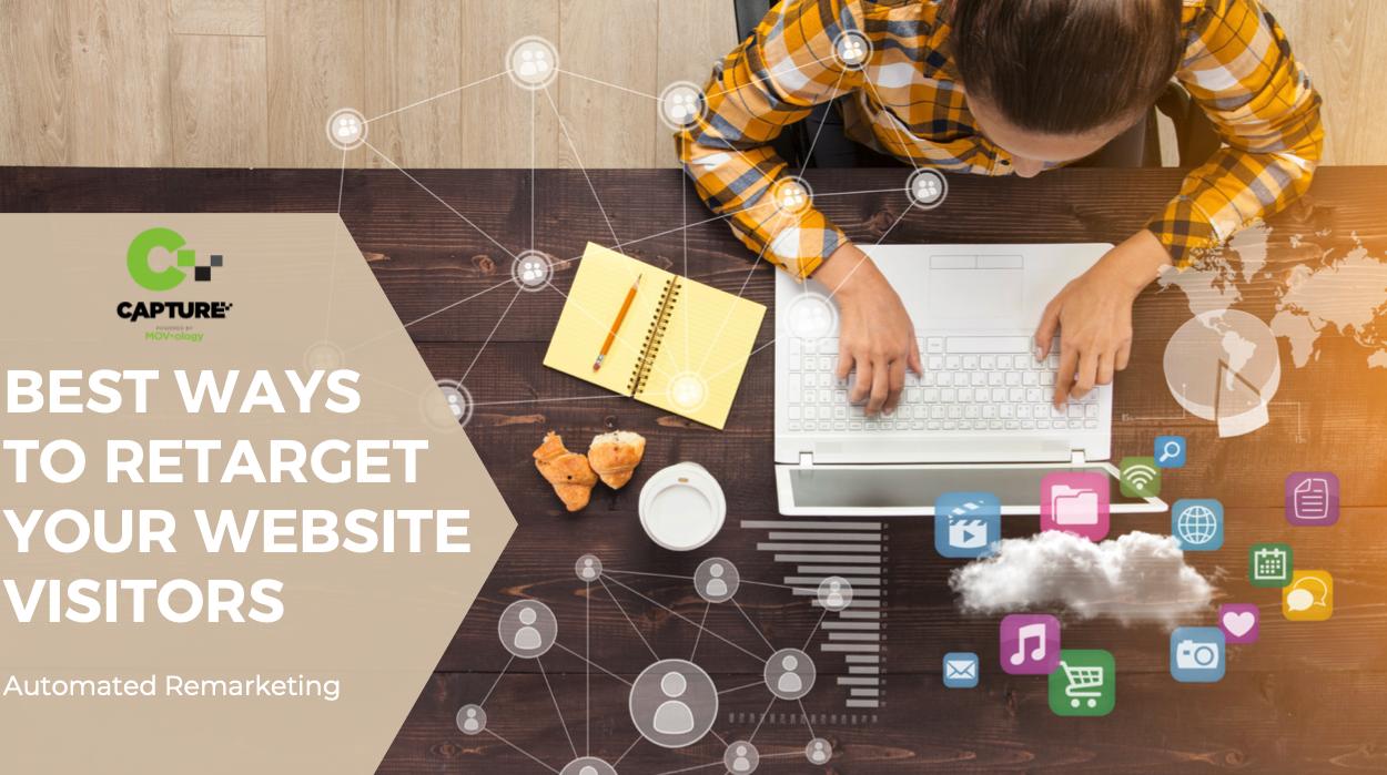 retarget your website visitors
